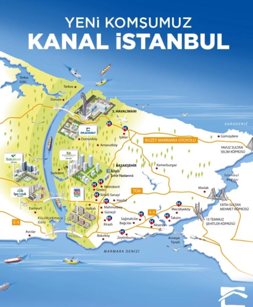 Emlak Konut Kanal İstanbul