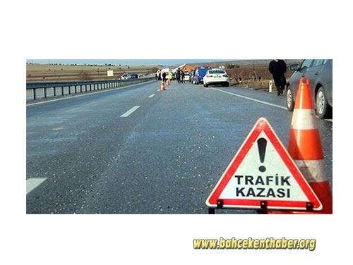 Bahçekentte Trafik Kazası!