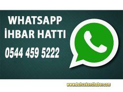 Bahçekent Haber Whatsapp İhbar Hattı Aktif!