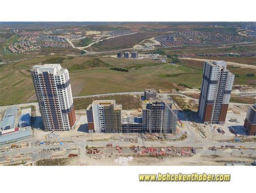 TUAL Bahçekent Ağustos 2018 Havadan Fotoğrafları
